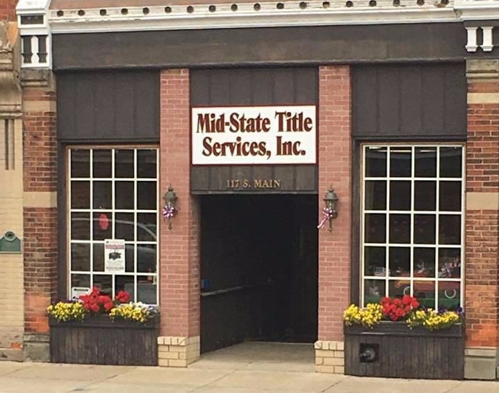Featured Business: Mid State Title Services, Inc. U2013 Vassar Chamber Of  Commerce